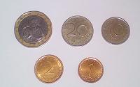 Отдается в дар Монеты Болгарии б/у