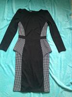 Отдается в дар платье-футляр с баской