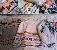 Отдается в дар Вязаные свитера ручной работы