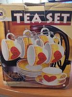 Отдается в дар Чайный фарфоровый сервиз