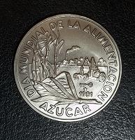 Отдается в дар Куба. 1 песо 1981 года. UNC.