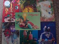 Отдается в дар Советские новогодние открытки