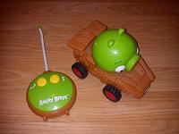 Отдается в дар Машинка Angry Birds