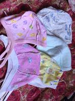Отдается в дар шапочки для новорожденных до 3 мес