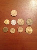 Отдается в дар Монетки повторки.