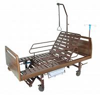 Отдается в дар Кровать для лежачих больных с функцией подъема