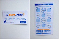 Отдается в дар Карта лояльности Eurotrans