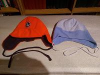Отдается в дар Две теплые шапочки на 2-3 годика