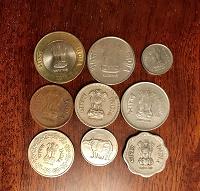 Отдается в дар Монетки Индии