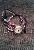 Отдается в дар Этно- браслет с часами