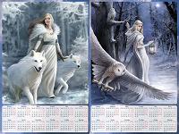Отдается в дар Эксклюзивные календари на 2019 год