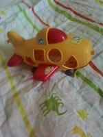 Отдается в дар Вертолет на колесиках детский!