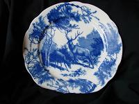 Отдается в дар Декоративная тарелка на стену Олени
