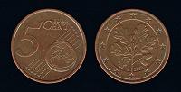 Отдается в дар 5 евроцентов германия