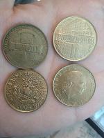 Отдается в дар Монеты Repybblica Italiana 1814 L200 1994