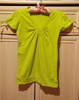 Отдается в дар Салатовая блузка