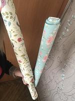 Отдается в дар Красивая упаковочная бумага, 2 рулона