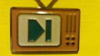 Отдается в дар Значок «Телевизор»