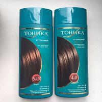 Отдается в дар Оттеночные бальзамы для темных волос