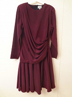 Отдается в дар итальянское гранатовое платье