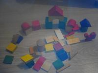 Отдается в дар Деревянные кубики