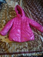 Отдается в дар куртка на девочку на осень