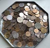 Отдается в дар Монеты 1991-1993 гг