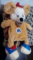 Отдается в дар Детский рюкзачек мышка