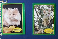 Отдается в дар Календарики с котиками