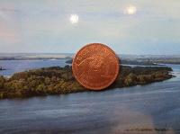 Отдается в дар махонькая монетушка