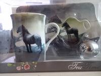 Отдается в дар Чайный набор «Лошадь»