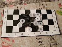 Отдается в дар Настольная игра «Шашки»