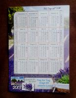 Отдается в дар календарик