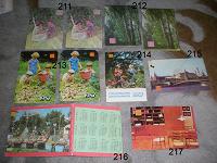 Отдается в дар Календарики (1987-1988)
