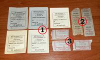 Отдается в дар Транспортные билеты из г. Белорецк