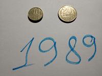 Отдается в дар Монеты 1989
