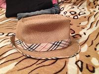 Отдается в дар Шляпа пляжная