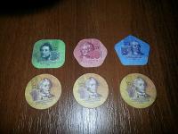 Отдается в дар Отдам в дар монеты-монету из композитных материалов.