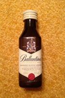 Отдается в дар Мини-бутылочка Ballantine's