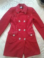 Отдается в дар Красное пальто