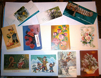 Отдается в дар Открытки… открыточки…