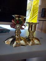 Отдается в дар подсвечник для 2 свечей