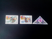 Отдается в дар марки СССР Космос