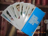 Отдается в дар Набор рисованных открыток «звезды советского спорта».