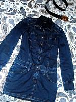 Отдается в дар Маленькое джинсовое платье-новое