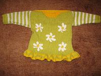 Отдается в дар Шикарное вязаное платьице
