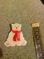 Отдается в дар Значок «Медведь»