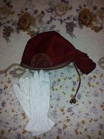Отдается в дар Кожаные бандана и перчатки