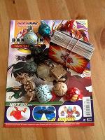 Отдается в дар Бакуган Bakugan игрушки, карточки, журнал