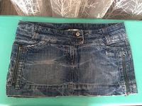 Отдается в дар Джинсовая юбка Pull & Bear, размер евр.44